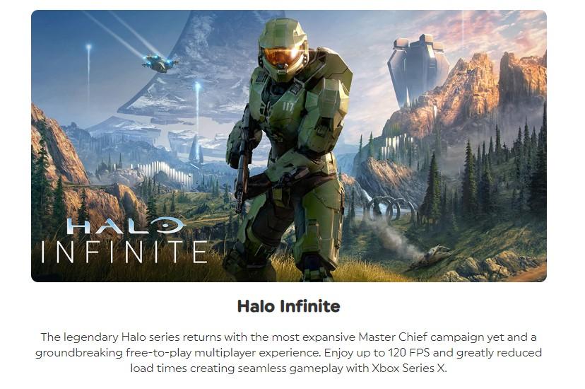 网曝《光环:无限》多人模式免费推出 游戏支持120帧