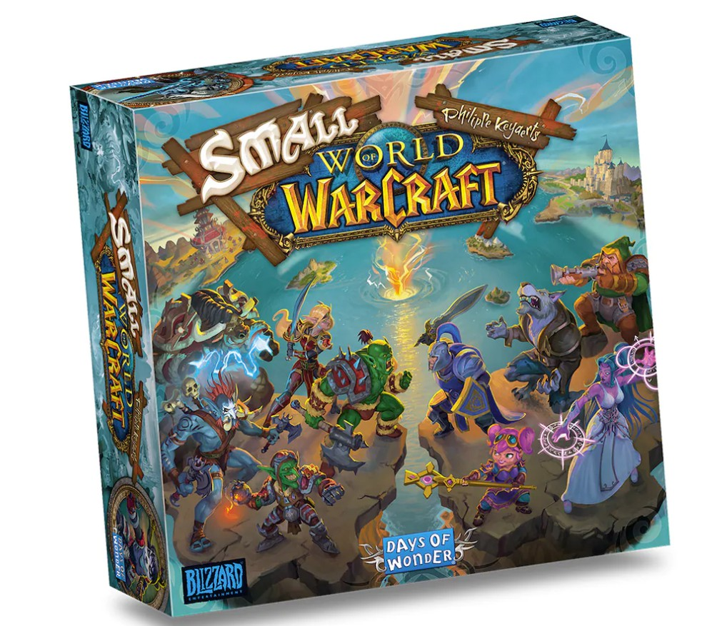 《魔兽世界》桌游《小小魔兽世界》正式发售 中文版售价528元