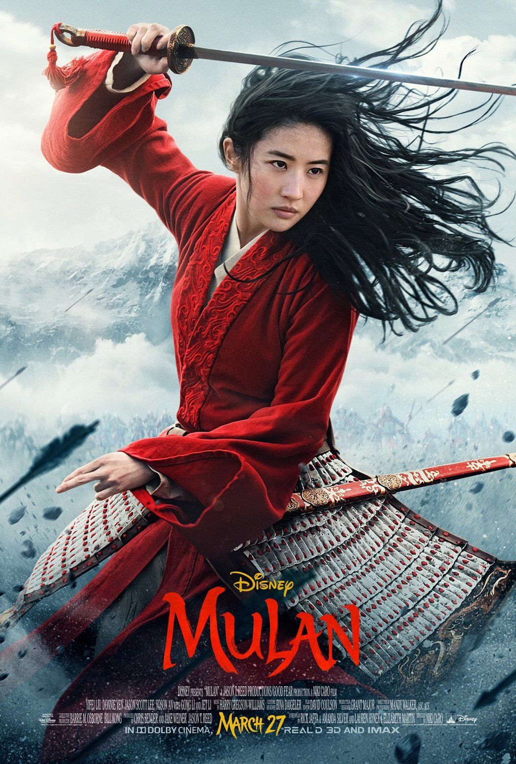 《花木兰》豆瓣评分跌至4.9 ,刘亦菲演技被嘲,网友看盗版都觉得浪费
