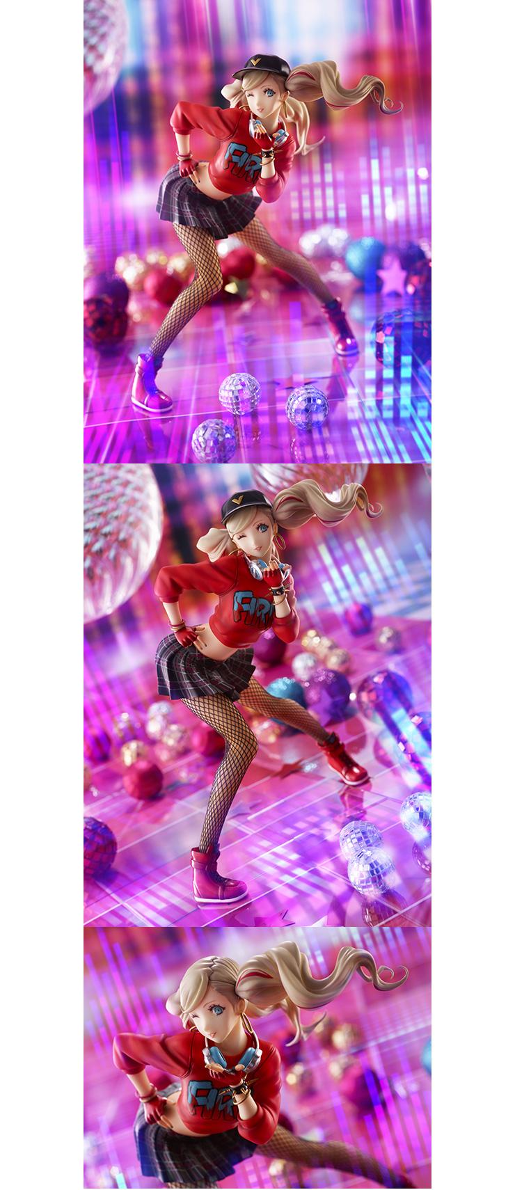 《女神异闻录5:星夜热舞》高卷杏俏皮性感造型官方手办 网袜性感热舞 – f1娱乐官网