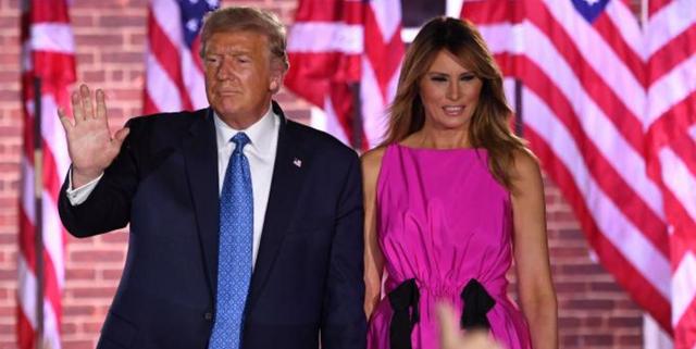 美国总统特朗普和第一夫人梅拉尼婭 新冠病毒检测结果均呈阳性